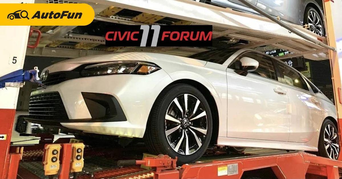Honda Civic 2022 Kembali Terlihat di Thailand, Peluncurannya di Penghujung 2021? 01