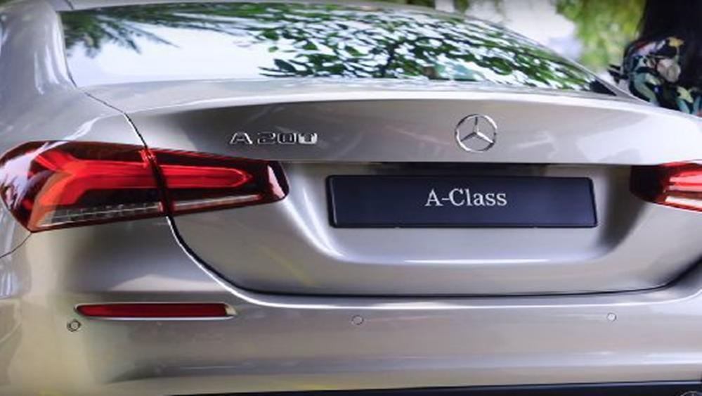 Mercedes-Benz A-Class Sedan 2019 Exterior 005