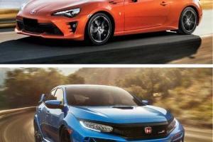 Perbandingan Kelegaan & Kepraktisan Toyota 86 Vs Honda Civic Type R, Siapa Juaranya?