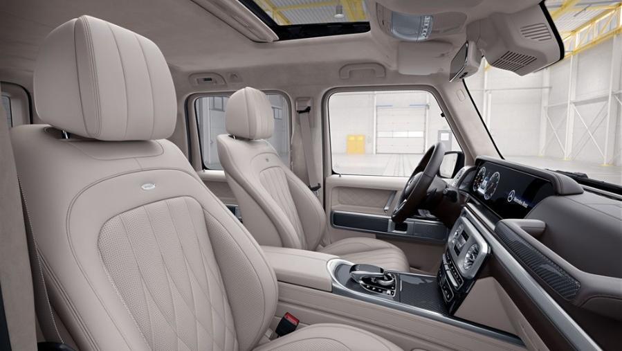 Mercedes-Benz G-Class 2019 Interior 002