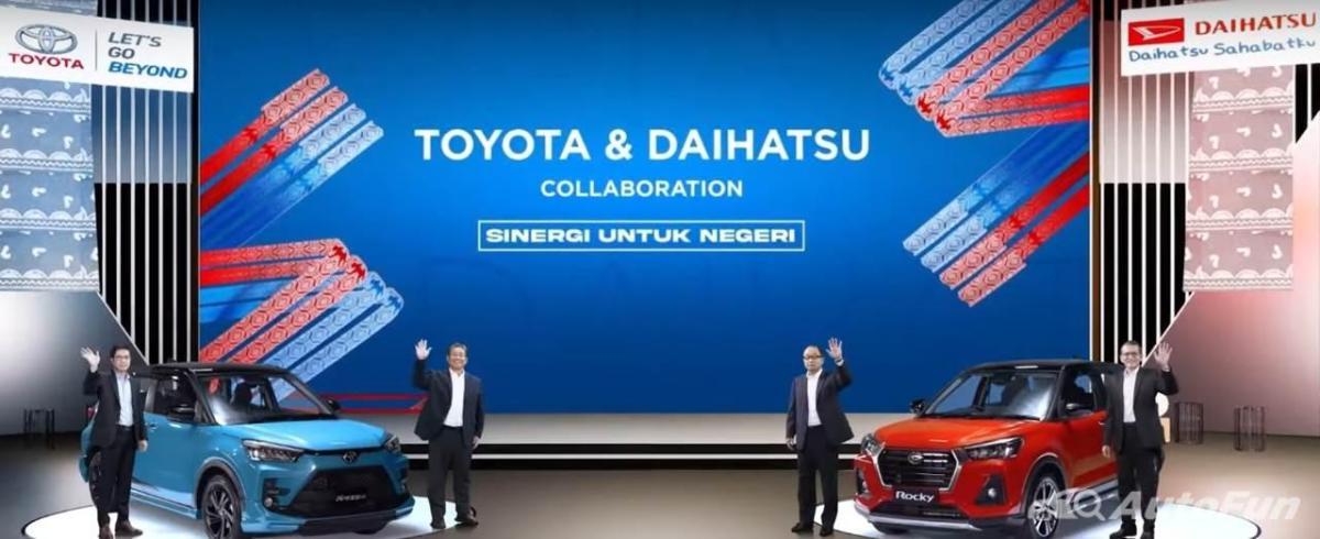 Toyota Raize dan Daihatsu Rocky Resmi Diumumkan, Diproduksi di Indonesia dan Diekspor ke 50 Negara 01