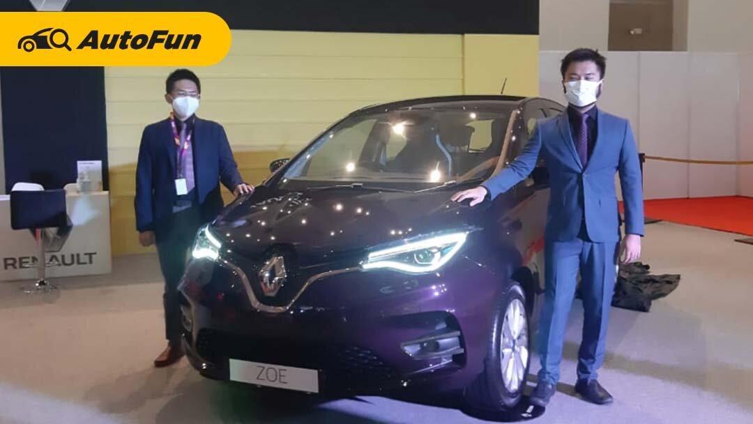 Cuma Dikenalkan Mobil Listrik Renault Zoe Dijanjikan Bakal Dibandrol Dengan Harga Terjangkau Autofun