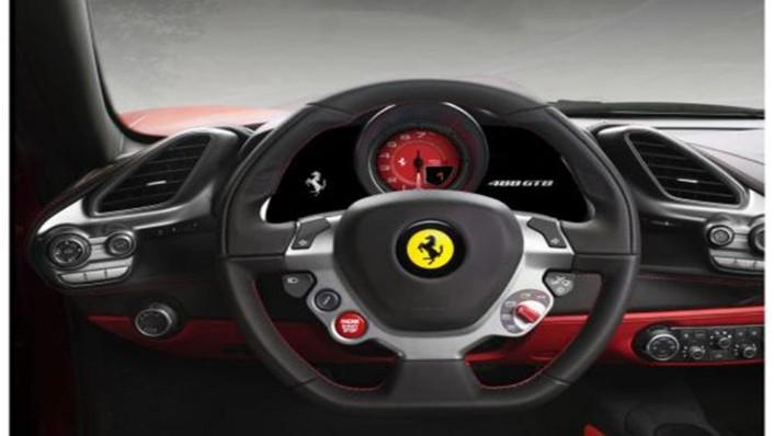 Ferrari 488 GTB 2019 Interior 003