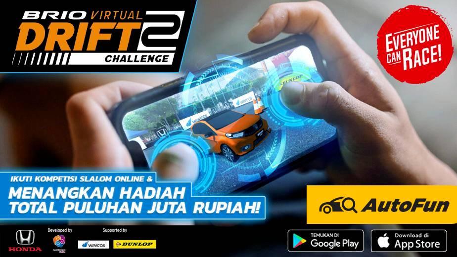 Honda Luncurkan Game Mobile Brio Virtual Drift Challenge 2, Berhadiah Puluhan Juta Rupiah 01