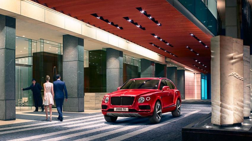 Bentley Bentayga 2019 Exterior 019