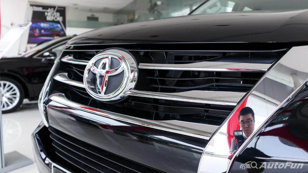 Toyota Fortuner 2019 Exterior 008