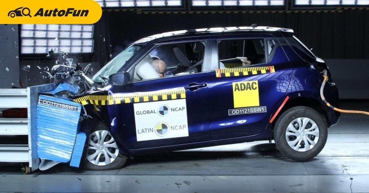 Duh Suzuki Swift 2021 Mendapat 0 Bintang Saat Uji Tabrak, Kualitasnya Tak Layak Pakai? 01
