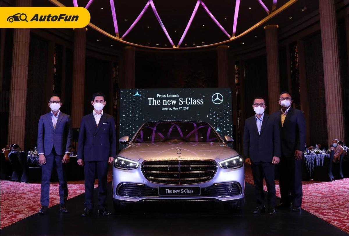 Ditawarkan Rp 3 Miliar Lebih, Mercedes-Benz S-Class 2021 Siap Manjakan Para Sultan 01