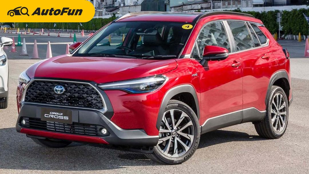 Toyota Corolla Cross 2020 terjual hampir 4x lebih banyak dari Honda HR-V 2020 di Thailand 01