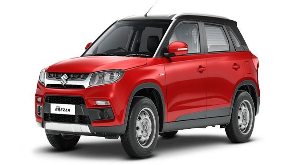Suzuki Vitara Brezza 2019 Exterior 001