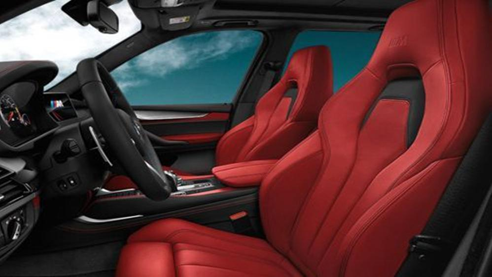 BMW X5 M 2019 Interior 010