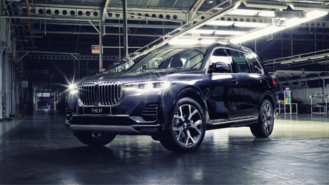 2021 BMW X7 xDrive40i Opulence Exterior 001