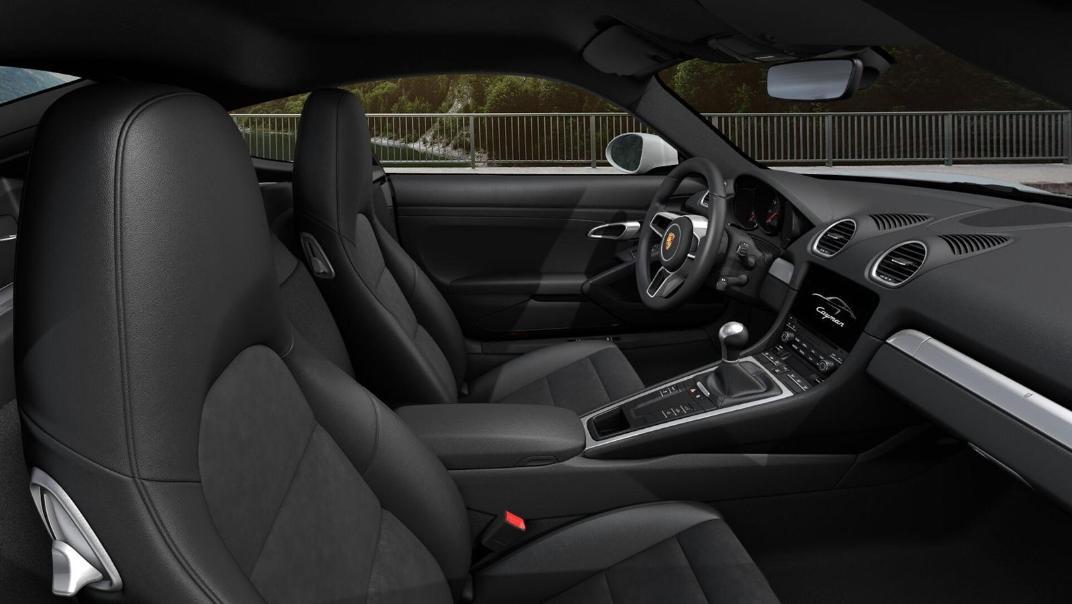 Porsche 718 2019 Interior 025