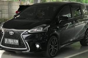 Makin Mewah, Modifikasi Toyota Sienta Bisa Bercita Rasa Lexus