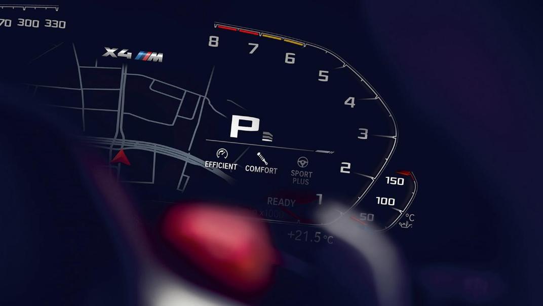 BMW X4 M 2020 3.0L Competition Interior 003