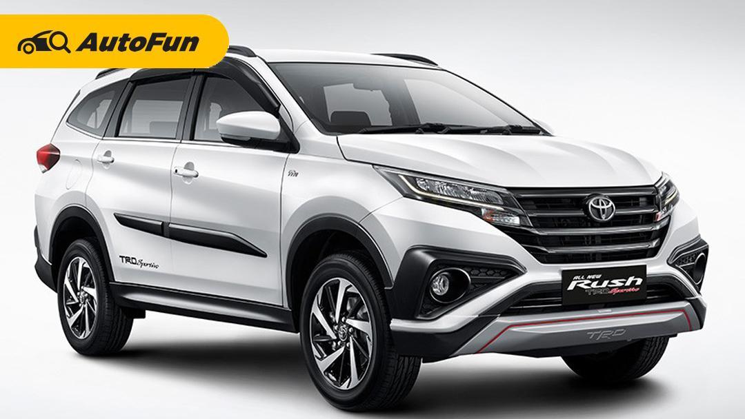 Nama Besar Toyota Membuat Toyota Rush Jadi Juara Suv Terlaris Di Indonesia 2020 Autofun