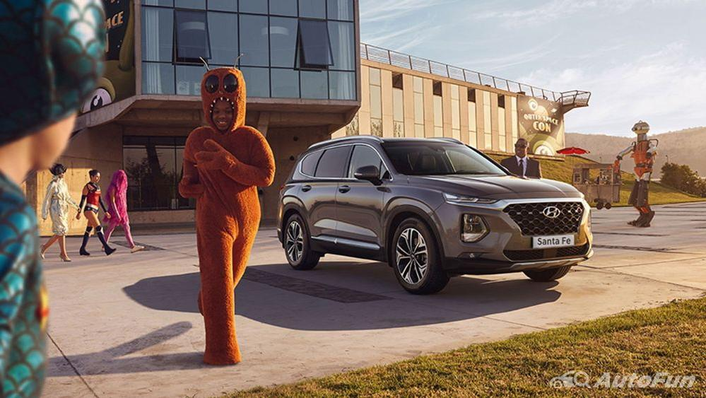 Hyundai Santa Fe 2019 Exterior 007