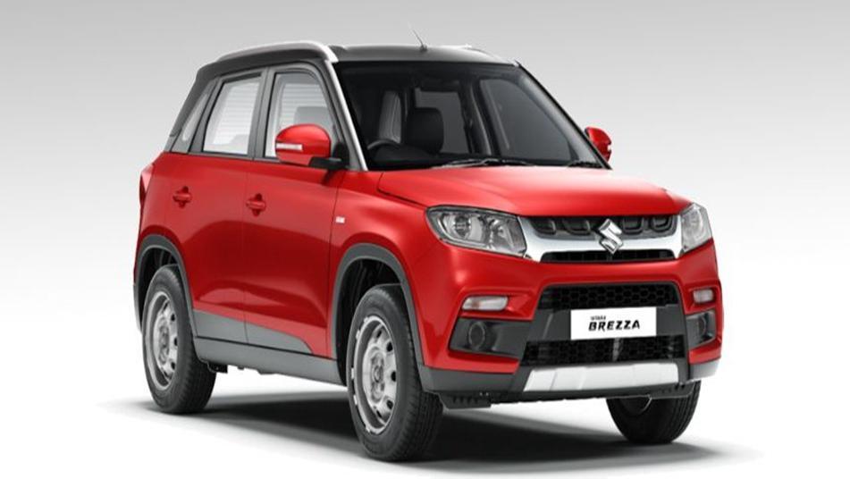 Suzuki Vitara Brezza 2019 Exterior 008