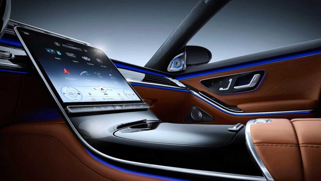 2021 Mercedes-Benz S-Class S 450 4MATIC Luxury Interior 004