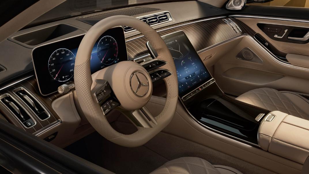 2021 Mercedes-Benz S-Class S 450 4MATIC Luxury Interior 008