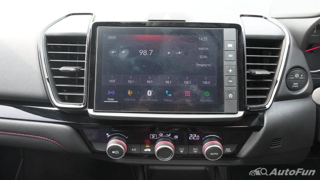 2021 Honda City Hatchback RS 1.5 CVT Interior 004
