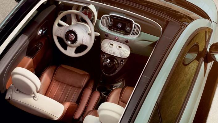 Fiat 500c 2019 Interior 001