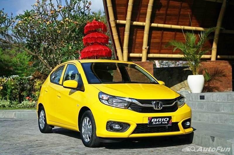 Honda Brio Satya Mobil LCGC