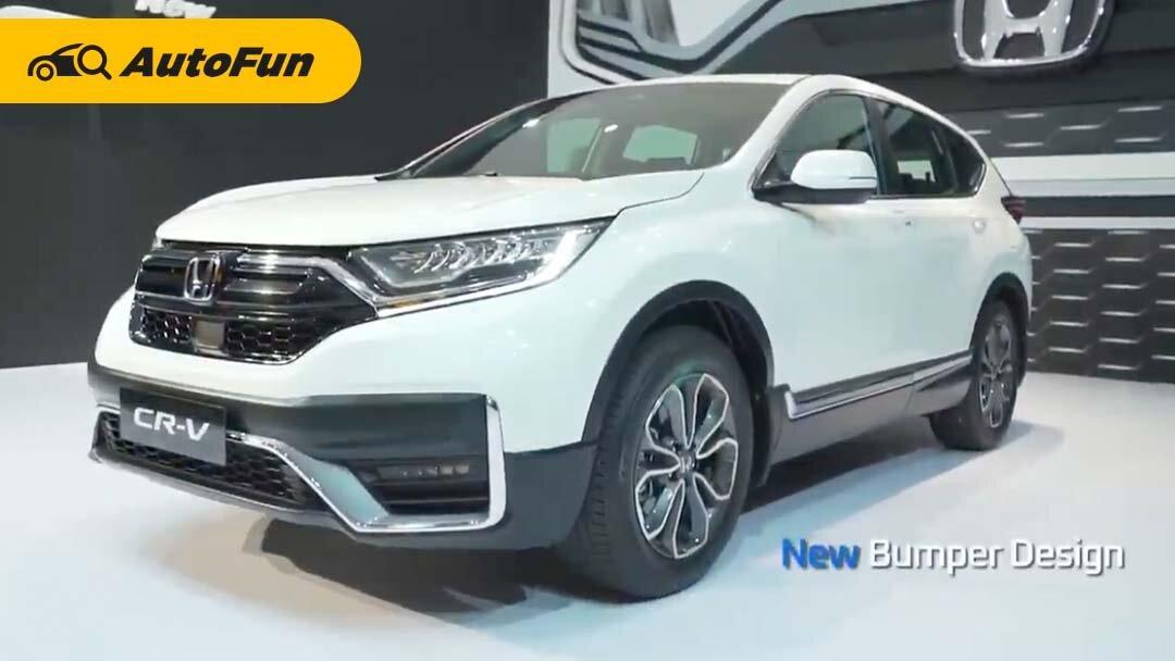 HPM Luncurkan Honda CR-V 2021 Facelift, Harga Naik Rp20 Jutaan plus Honda SENSING 01