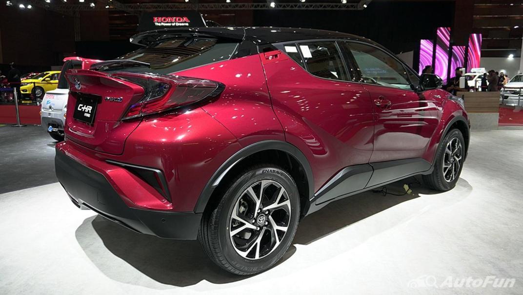 2021 Toyota CHR Exterior 004
