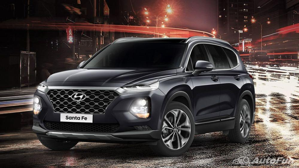 Hyundai Santa Fe 2019 Exterior 008