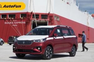 Pelabuhan Internasional Patimban Diresmikan, Suzuki All New Ertiga Produk Pertama yang Di Ekspor