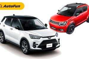 Apakah Toyota Raize 2021 Siap Menantang Suzuki Ignis di Pasar Mini SUV Indonesia?