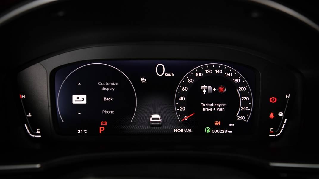 2022 Honda Civic Upcoming Version Interior 024