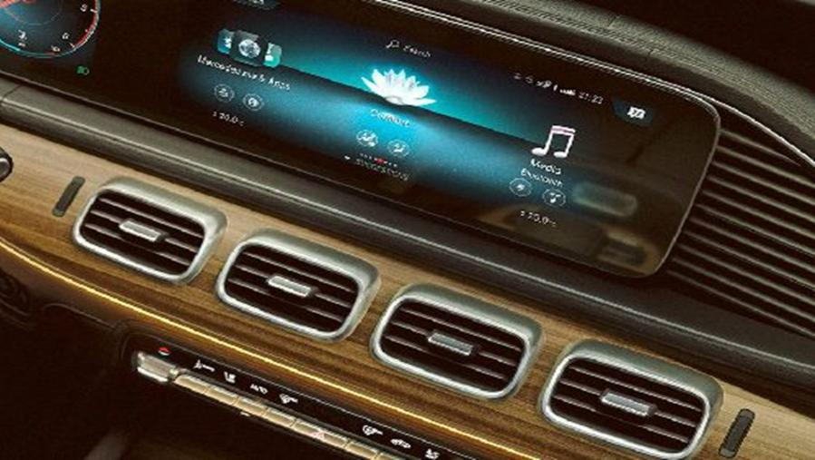 Mercedes-Benz GLE-Class 2019 Interior 002