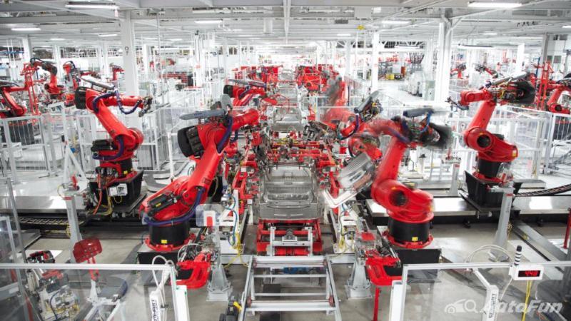 produksi mobil Tesla