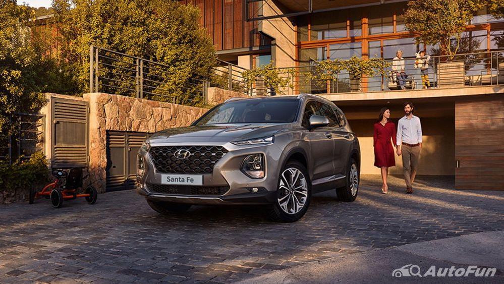Hyundai Santa Fe 2019 Exterior 009