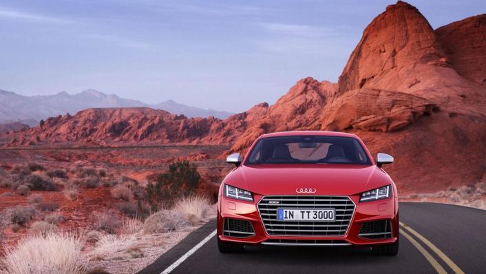 Audi TTS Coupe 2019 Exterior 001
