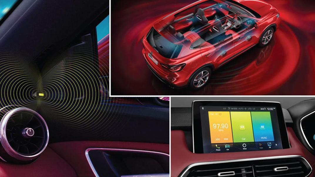 2020 MG HS Interior 003