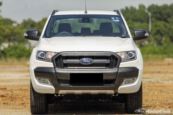 Ford Rager tampak depan
