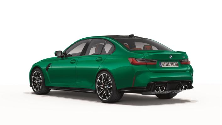 2021 BMW M3 Competition Exterior 003