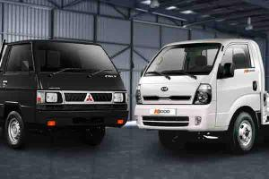 Adu Spesifikasi Kia Big-Up Vs Mitsubishi L300, Big-Up Lebih Unggul Soal Muatan?