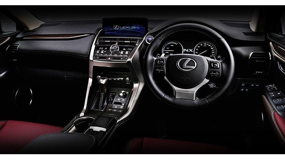 Lexus NX 2019 Interior 001