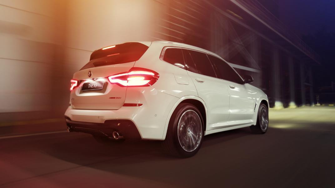 2021 BMW X3 xDrive30i M Sport Exterior 003