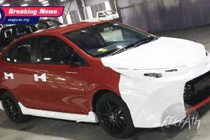 Bocoran: Varian Tertinggi Terlihat, Toyota Vios 2021 GR Sport Bukan Taksi Biasa