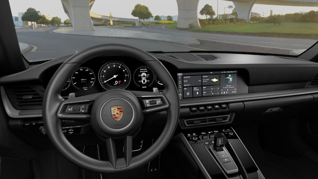 Porsche 911 2019 Interior 026