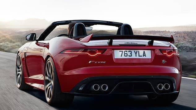 Jaguar F-TYPE 2019 Exterior 014