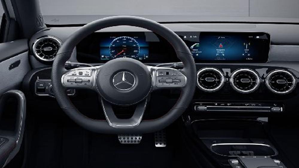 Mercedes-Benz A-Class Sedan 2019 Interior 001