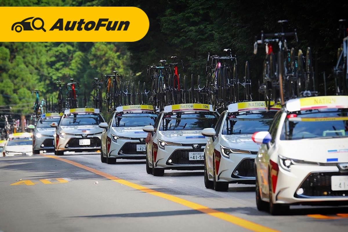 5 Mobil Toyota yang Dipakai di Olimpiade Tokyo 2020, Semuanya Pakai Mobil Ramah Lingkungan 01