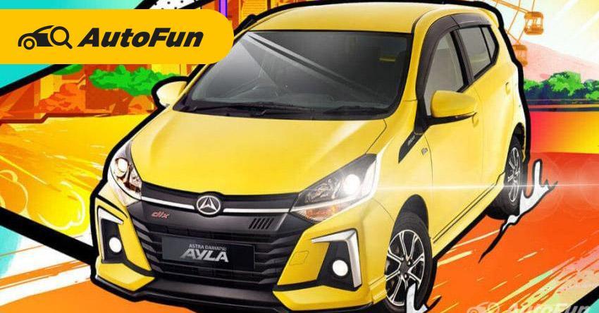 Review Daihatsu Ayla 2020 Pelopor Lcgc Nan Murah Terjangkau Autofun