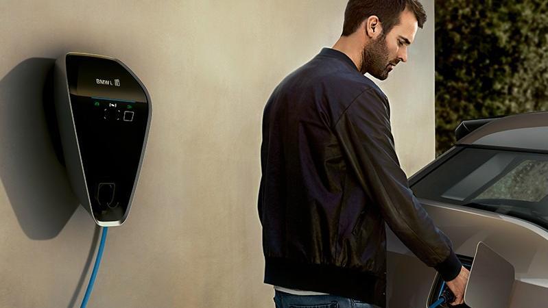 BMW I3s 2019 Interior 010
